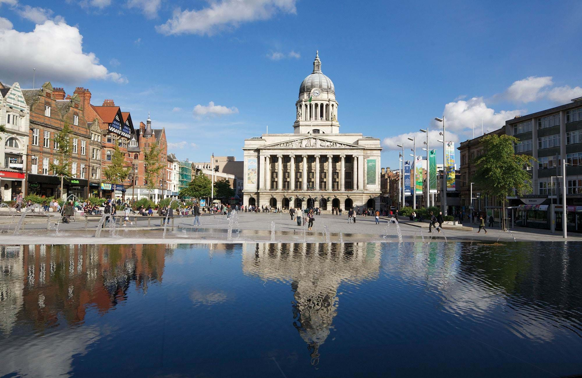 Nottingham Council House in Nottingham, England